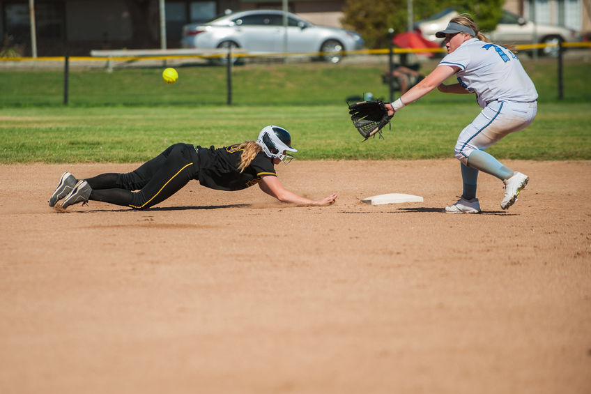 softball second place double play